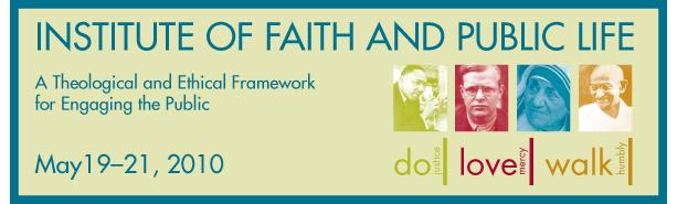 Faithandpubliclife