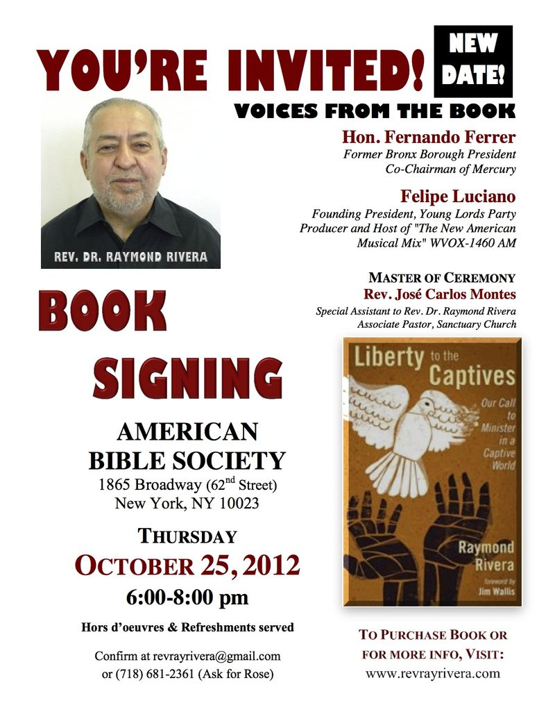 Book Signing Flyer ABS NY Oct 25 2012